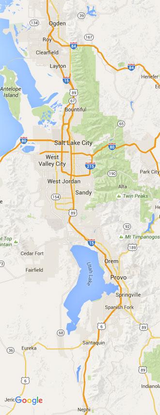 Salt Lake City HVAC Service Area
